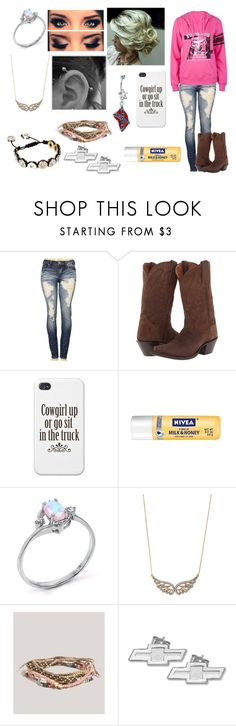 """""""Untitled #627"""" by taylor-loomis ❤ liked on Polyvore featuring Machine, Dan Post, Nivea, Stella & Dot, American Eagle Outfitters, LogoArt and Love"""