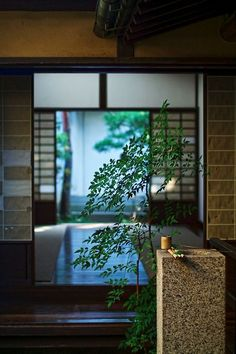 Japanese house inside outside / Japanese Interior, Japanese Design, Japanese Style, Traditional Japanese, Bg Design, House Design, Japanese Architecture, Architecture Design, Japan Garden