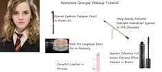 Hermione Granger (Harry Potter and the Half-Blood Prince) Makeup Tutorial