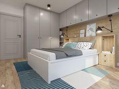 Sypialnia w skandynawskim klimacie - zdjęcie od NEFA Architekci - Sypialnia - Styl Skandynawski - NEFA Architekci
