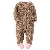 Cet ensemble une pièce réalisé en molleton douillet est parfait pour porter toute la journée. Votre bébé fille sera mignonne de la tête jusqu'aux pieds grâce aux petits chatons appliqués!<br>