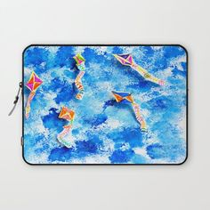Laptop Sleeve Give your laptop somewhere comfy to lay down. Our form-fitting laptop sleeves are printed on durable polyester, with a soft microfiber interior to prevent scratches. Kite, Free Spirit, Laptop Sleeves, Kids Fashion, Comfy, Printed, Interior, Stuff To Buy, Indoor
