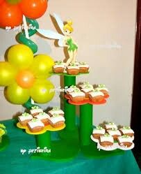 Tinkerbell Birthday Cakes, Tinkerbell Party, Fairy Birthday, Birthday Parties, Mario Bros Cake, Cardboard Crafts, Party Lights, Diy Projects To Try, Baby Shower