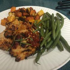 Spicy Tarragon Yogurt Chicken - Allrecipes.com