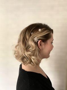 Blonde Bridal Hair, Bridal Hair And Makeup, Hair Makeup, Short Wedding Hair, Luxury Hair, Burgundy Wedding, Girls Life, Brides And Bridesmaids, Hairdresser
