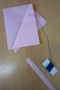Papírový drak létající i v místnosti