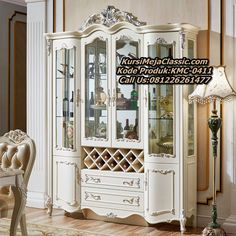Restaurant Furniture, Decor, French Doors, Furniture, Cheap Living Rooms, Living Furniture, Glass Decor, Wooden Dining Tables, Living Room Display Cabinet
