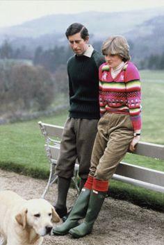 Diana, princess of Wales, Diana Francis Spenser & His Royal Highness Charles Prince of Wales