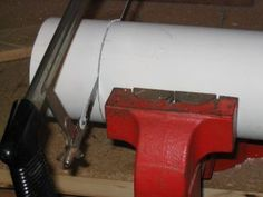 HOW TO CUT AND GLUE PVC PIPE