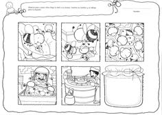 Logische volgorde thema bijen / SECUENCIA How Bees Make Honey, Grade 2 English, Bee Coloring Pages, Story Sequencing, Sequence Of Events, Spring Theme, Honey Colour, Preschool Worksheets, Speech And Language