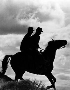 Paul Newman & Robert Redford in Butch Cassidy and the Sundance Kid (1969, dir. George Roy Hill)