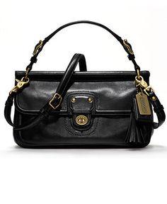 COACH LEATHER CITY WILLIS - Crossbody & Messenger Bags - Handbags & Accessories - Macy's