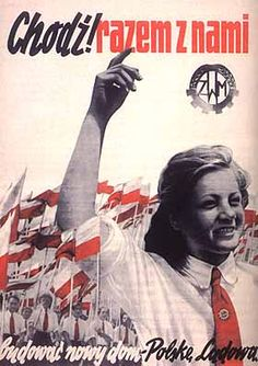 We don't like communism but their pretentious piece of art Poland People, Communist Propaganda, Polish Posters, Good Old Times, Old Advertisements, Quote Posters, Vintage Posters, Slogan, Nostalgia