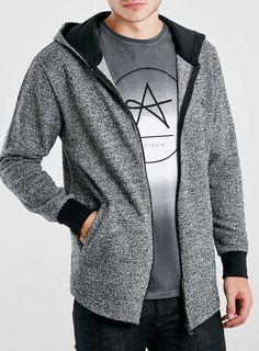 Antioch Grey Zip Hoodie*
