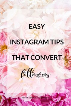 We've all heard how Instagram is consistently changing- and very quickly, too. Well today I'd like to share some easy Instagram tips with you that really convert. Whether you're new to Instagram or you've been using it for a while, I'd encourage you to take these tips to heart. Whether you just need a refresher or these tips are all new to you, I believe they will still be beneficial.