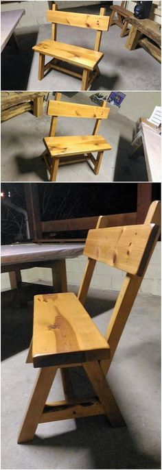 If you do want to recycle the wood pallet into something really pleasant then do add the wood bench in your living room. This bench piece as shown in the image is designed in the miniature shape style of the furniture accessory. You would probably be finding it coming out to be so much unique.