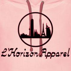 L'Horizon Logo und Schriftzug - Frauen Premium Hoodie
