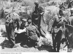 General Kurt Student (kneeling with map), the German airborne commander-in-chief, discusses the situation with staff officers. For the firtst few days, the German grip on Crete was tenuous in the extreme. Pin by Paolo Marzioli Narvik, Battle Of Crete, Imperial Japanese Navy, The Third Reich, German Army, Luftwaffe, Troops, Soldiers, Military History