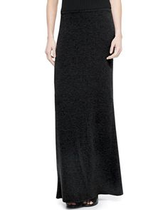Cashmere+Niya+Knit+Maxi+Skirt+by+Theory+at+Neiman+Marcus.