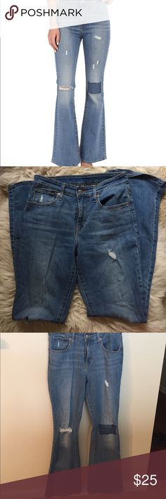 Levi's High Rise Flare Jeans Great condition, super comfortable! Levi's Jeans Flare & Wide Leg