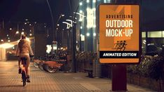 Animated Outdoor AD Mock-up s