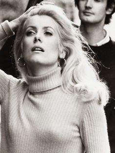 Catherine DeNeuve's timeless fashion
