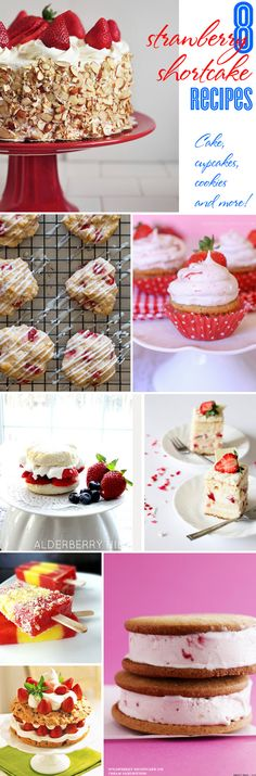 8 Strawberry Shortcake cake, cupcakes, cookies & more | curated at TheCelebrationShoppe.com