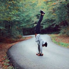 Damn can you guys do this?  (Photography  = @longboard.picture)