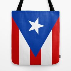 Puerto Rico Tote Bag by McGrathDesigns - $22.00