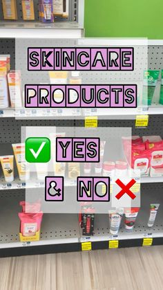 Skincare Yes & No- follow me on IG + TikTok Drugstore Beauty, Beauty Makeup, Yes, Oily Skin, Clear Skin, Glowing Skin, Skin Care Tips, Skincare, Skin Tips