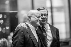 In My Shoes Book Launch in New York - Ronald O. Perelman and Michael Ovitz