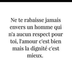 French Quotes, I Deserve, Self Esteem, Positive Vibes, Sentences, Hockey, Romance, Couple, Motivation