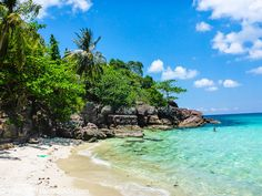 Fingernail Beach on Phu Quoc Island, Vietnam. #phuquoc #phuquocisland #beach #island #love #sea #ocean #vietnam #asia #travel
