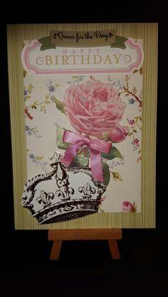 Queen for the Day - Happy Birthday www.etsy.com/shop/jengirlsdesigns #etsy #jengirlsdesigns #handmade #handmadecard #card #greetingcards #etsyshop #etsystore #etsysellers #etsyseller #etsyshoppers #etsyfinds #etsyusa #papercrafts #papercrafting #cardmaking #thehandmadeparade #etsyguidebook #etsygifts #etsyofmyeye #creatorslane #simpliquilyetsy #creatorcommunity #etsyscout #usamakers #koobit #birthday #birthdaycard #happybirthday #birthdaywishes #makeawish