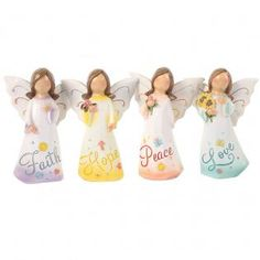 Available in 4 assortments: Faith, Hope, Peace, and Love. MaterialResin PackagingBubble Wrap and Cardboard Box Inner Carton GiftBox Display Individual Product Red Company, Santa's Magic Key, Giraffe Family, Unicorn Ornaments, Baby Hedgehog, Family Ornament, Lucky Star, Tooth Fairy, Pretty Pastel