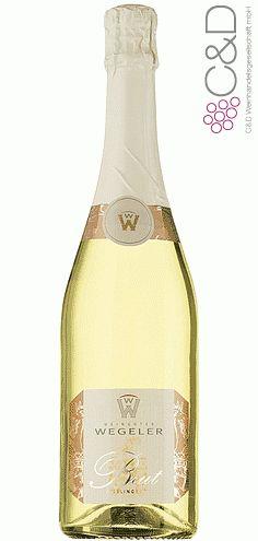 Folgen Sie diesem Link für mehr Details über den Wein: http://www.c-und-d.de/Rheingau/Riesling-Gutssekt-brut-Weingut-Wegeler_53460.html?utm_source=53460&utm_medium=Link&utm_campaign=Pinterest&actid=453&refid=43 | #wine #whitewine #wein #weisswein #rheingau #deutschland #53460