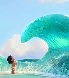 These days I'm craving more and more for animated movies.movies like moana takes you to another world and gets you back to this world Awe inspired 😍😍 Disney Pixar, Moana Disney, Animation Disney, Disney Fan Art, Disney And Dreamworks, Disney Cartoons, Animation Film, Disney Magic, Disney Movies