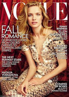 'I felt like a princess or a character in some sort of fairy tale,' Natalia Vodianova says of her extravagant cover shoot for US Vogue, photographed by Annie Leibovitz. 'It was an absolute dream' http://dailym.ai/12e3lRw