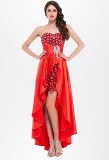 robe-de-soiree-asymetrique-rouge-satin-bustier-strass.jpg (221×324)