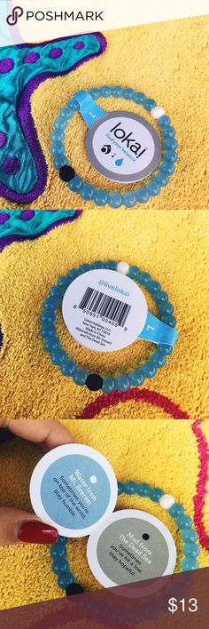 Lokai bracelet Brand new LARGE Lokai bracelet. Literally never worn. I absolutely love these and have my own😻. Large can fit anyone it just depends how you like to wear your jewelry; tight or loose. Lokai Jewelry Bracelets