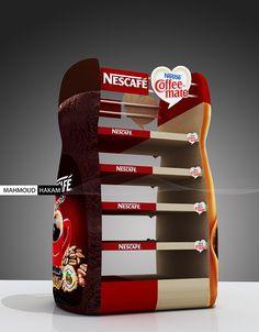 Nescafe & coffee-mate on Behance Nescafe, Behance, Packaging, Coffee, Display, Bar, Illustration, Kaffee, Floor Space