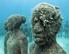 Underwater Alien Sculptures - Jason de Caires: UK - My Modern Metropolis