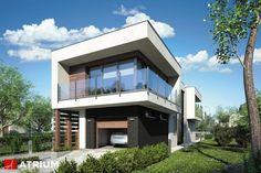 MODERN HOUSE – jeden z najciekawszych, nowoczesnych domów piętrowych na bardzo wąską działkę. Staranne rozplanowanie przestrzeni, niezwykła dbałość o detale oraz nieszablonowe modernistyczne rozwiązania to niewątpliwe atuty projektu.