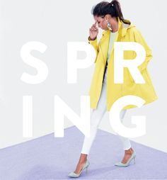 Spring Trends and How to Rock Them Properly Email Design Inspiration, Style Inspiration, Nyc Fashion, Spring Fashion, Spring Wear, Spring Trends, The Fresh, J Crew, Cool Designs