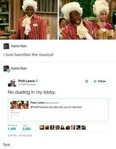Lol after the end of Suite Life, Mr Moseby went on to star in Hamilton My Tumblr, Tumblr Funny, Funny Memes, Hilarious, Sprouse Bros, Zack Y Cody, Hamilton Lin Manuel, Def Not, Suite Life