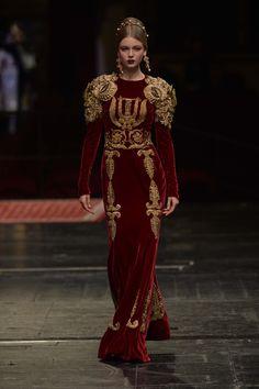 Dolce & Gabbana's Alta Moda Collection 2016