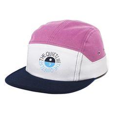 d7e889ff46c Solar 7 Panel Hat Pink White Navy Foundation 5