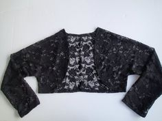 Perfect free pattern for a little lace jacket.  Lovely over a nice dress for modesty or if its a little bit cool.  Simple pattern.