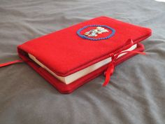 Book cover Bible cover. Felt book cover. Fabric book by Hermitinas, €15.00