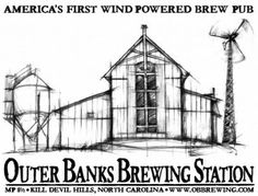 Sip a thirst-quenching Ölsch Pale Ale from the wind-powered Outer Banks Brewing Station in Kill Devil Hills.